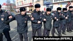 Полиция Архангельска, 7 апреля