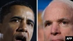 Барак Обама ва Ҷон Маккейн