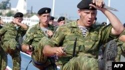 Военнослужащие российского флота