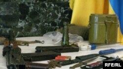 Зброя вилучена під час спецоперації