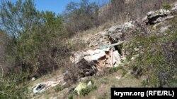 Притулок бездомних у печері