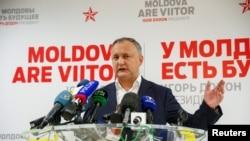 Moldovan President-elect Igor Dodon