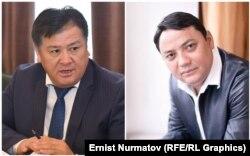 Гуламжан Анарбаев и Райымбек Матраимов.