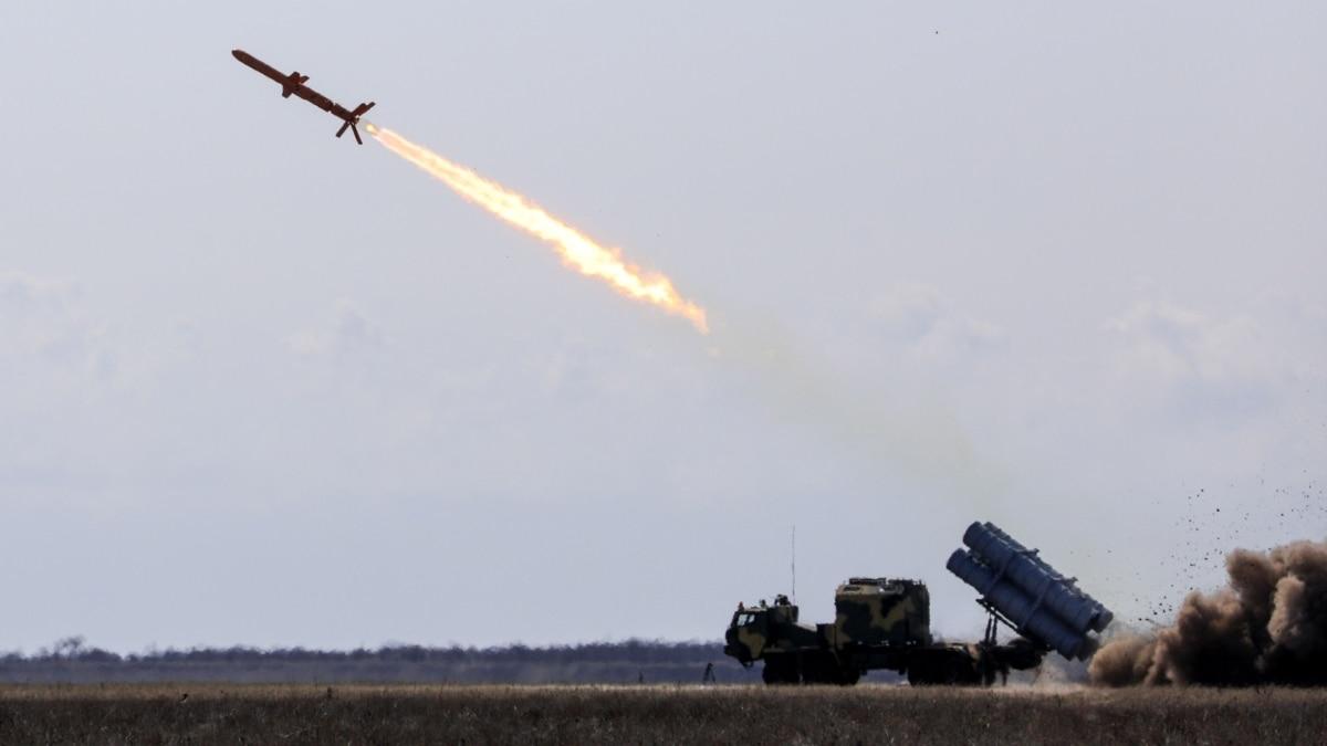 В Одесской области успешно свершились испытания ракетного комплекса «Нептун»