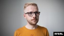 Журналисту Радыё Свабода Антону Трофимовичу во время задержания сломали нос