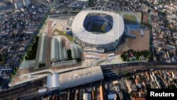 Футбольны стадыён у Бразыліі, ілюстрацыйнае фота