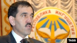 Юнус-Бек Евкуров уже год на посту президента Ингушетии