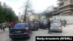Protest u Sarajevu počeo je u srijedu, 5. juna 2013.