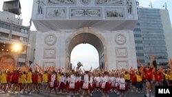 Прослава на 20-годишнината од референдумот за самостојност на Македонија, 8 септември 2011 година.