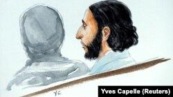 Salah Abdeslam, ilustrim.