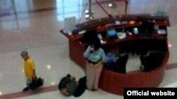 Дубай Бош прокуратурасининг кузатув камерасида қайд қилинган тасвир (Сурат Gulfnews.com сайтидан олинди).