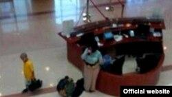 Dubay Bosh prokuraturasining kuzatuv kamerasida qayd qilingan tasvir (Surat Gulfnews.com saytidan olindi).