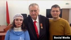 Натальля Басалыга, Аляксандар Лапіцкі і Алег Воўчак