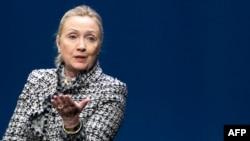 U.S. Secretary of State Hillary Clinton in Copenhagen