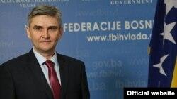 Salko Bukvarević, ministar za boračka pitanja Federacije BiH
