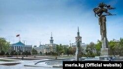 Бишкек. Апрель 2019 года.