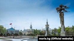 Город Бишкек.
