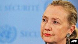 Государственный секретарь США Хиллари Клинтон. Нью-Йорк, 31 января 2012 года.