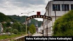 Tvornica u Kačaniku. Ovaj grad broji oko 30.000 stanovnika, a oko 40 posto građana je nezaposleno.