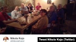"Tweet ""Samoodbrana"" Nikole Koje"
