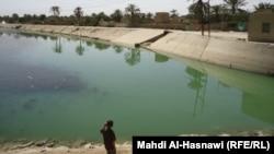 نهر في الناصرية