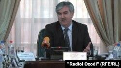 Файзиддин Қаҳҳорзода, вазири молияи Тоҷикистон