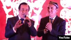 Ҷӯрабек Муродов ва Шералӣ Ҷӯраев - ширкатдорони нахустин консерти муштараки овозхонҳои тоҷику узбек