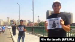 نشطاء شبان في حملة ضد التحرش الجنسي في مصر