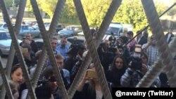 Фото из штаба наблюдателей в Костроме (Twitter - Алексей Навальный)