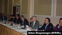 Региональная встреча по вопросам трансграничного контроля заболеваемости туберкулезом в странах Центральной Азии. Астана, 7 декабря 2016 года.