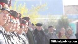 Кыргыз милициясы.