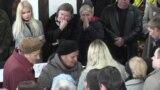 Ukrainians Mourn Slain Activist Targeted In Acid Attack video grab