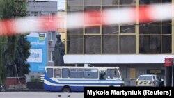 Автобус із заручниками в центрі Луцька, 21 липня 2020 року