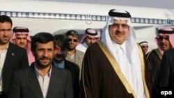 سفر محمود احمدی نژاد به عربستان دومین سفر وی به این کشور ظرف ۱۵ ماه گذشته است.