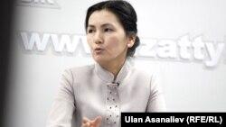 Аида Салянова, Қырғызстан парламентінің депутаты.