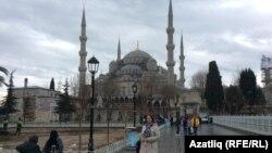 Вид на Стамбул.