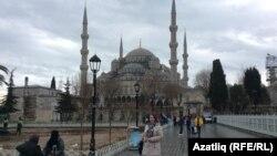 Истанбул манзараси.