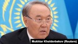 Президент Казахстана Нурсултан Назарбаев. Астана, 5 октября 2018 года.