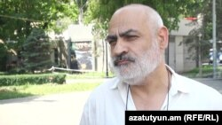 Armenia- Civil activist Vardges Gaspari, 7Jul2015.