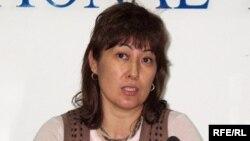 «Стратегия» әлеуметтік және саяси зерттеулер орталығының президенті Гүлмира Илеуова.