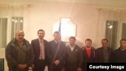 Халабонҳои раҳошуда дар Либия бо сафири Украина