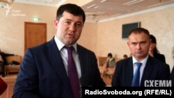 Голова Державної фіскальної служби України Роман Насіров (ліворуч)