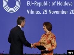 Moldova ilə AB arasında assosiativ sazişin imzalanması - 29 noyabr 2013