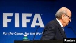 Sepp Blatter pasi e shaplli dorëheqjen e tij nga FIFA