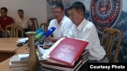 Представители следственной группы отвечают на вопросы журналистов. 24 июня 2013 года