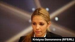 Jevgenia Timoshenko gjatë intervistës në Radion Evropa e Lirë