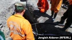Одно из угольных месторождений в Баткенской области.