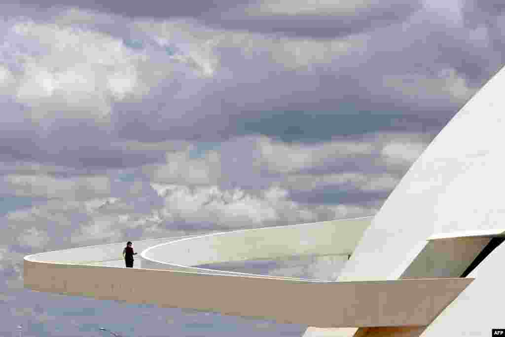 The ramp of Brasilia's National Museum, inaugurated in 2007