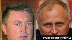 Дзьмітры Вус і Мікалай Статкевіч