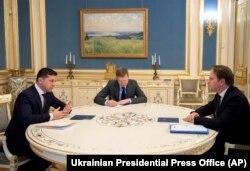 Олівер Варгеї під час зустрічі з президентом України Володимиром Зеленським. Киіїв, 12 лютого 2020 року